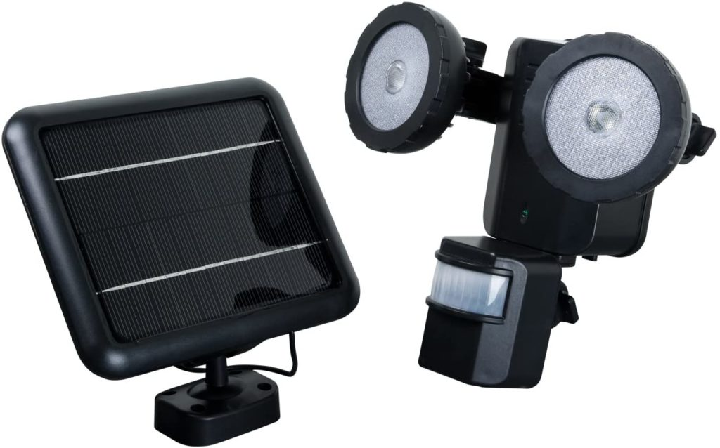XEPA PSO1B Motion Activated Solar Powered LED Security Light